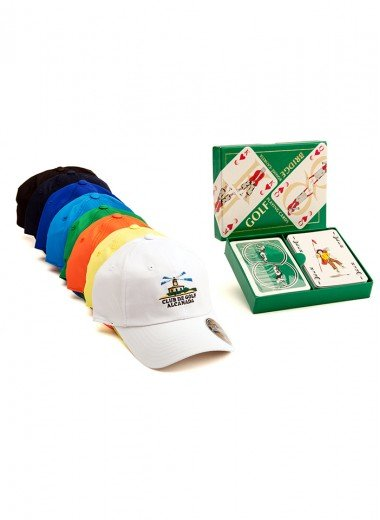 CARTAS BRIDGE + GORRA TKO