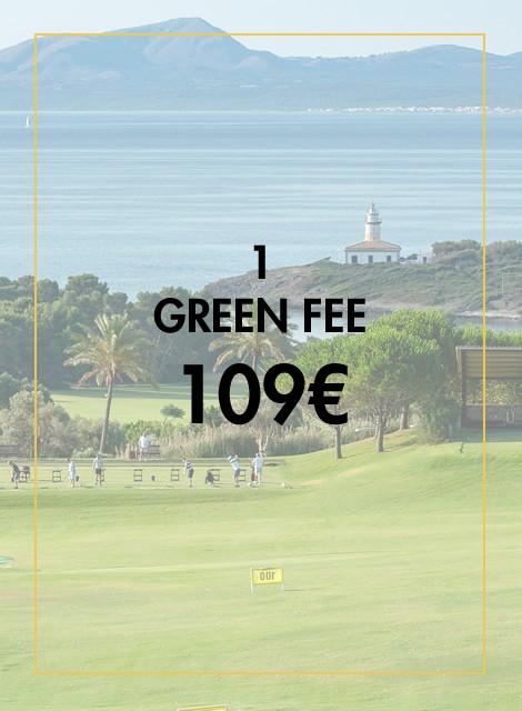 1 Green Fee