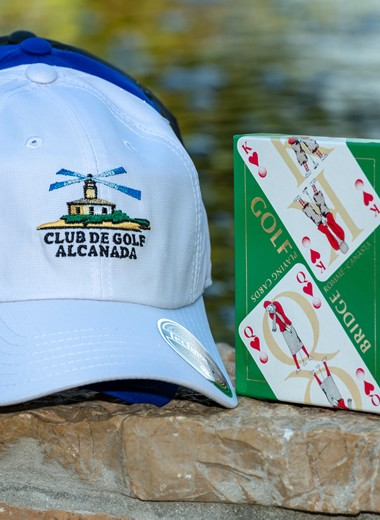 Gorra con logo & cartes Bridge