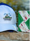 Cap with logo and bridge cards